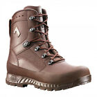 BRITISH ARMY - Female HAIX Combat High Liability Boots Issue Brown Leather