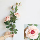 Bouquet Rose Flower Home Wedding Artificial 3-Heads Simulation Hot New Hot Sale