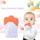 Silicone Baby Mitt Teething Chew Mitten Glove Candy Wrapper Sound Teether Toys