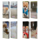 BOO-THE WORLD'S CUTEST DOG PLAYFUL LEATHER BOOK CASE FOR MICROSOFT NOKIA PHONES