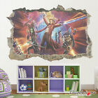 Justice League HULK IRONMAN Movies Bedroom Smashed Wall Decal Art Sticker Mural