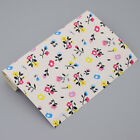 A4 Faux Leather Flower Printed Fabric Floral Sheets DIY Sewing Craft Upholstery