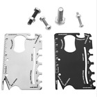 14in1 stainless steel Multi Purpose Credit Card Survival Outdoor Camping Tools K