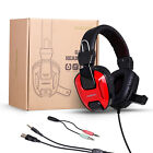 AUSDOM Wired Gaming Headset 7.1 Surround Sound Headphone Headset with Mic for PC