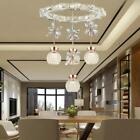 Natural Light Crystal Pendant Lamp Chandeliers Hallway Bedroom Ceiling Fixtures
