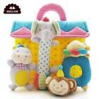 High-Class Musical Animal Design Soft Plush Baby Rattle Infant Stuffed Toys