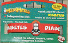 2 Pack AllerMates ID Bands Wristband Health Alert