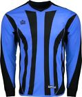 Внешний вид - Admiral Bayern ADULT Padded Elbow Soccer Goalie Jersey, Italy Blue / Black