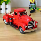 Red Metal Vintagetruck Christmas Ornament Kids Xmas Gifts Toy Table Top Decor