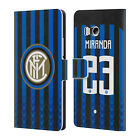 INTER MILAN 2018/19 PLAYERS HOME KIT GROUP 2 LEATHER BOOK CASE FOR HTC PHONES 1