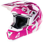 FXR Youth Fuchsia Snowmobile X1 Youth Helmet Snocross