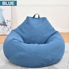 Large Bean Bag Chairs Couch Sofa Cover Indoor Lazy Lounger For Adults Kids Wash