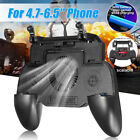 Mobile Games Cooling Fan Gamepad Joystick Controller For PUBG 4.7-6.5'' Phone