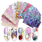1pc Shell Abalone Nail Art Sticker Gradient Mermaid Flakes Nail Foil Decal Decor