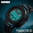 SKMEI Mens Smart Watch Sports Watches 3D Pedometer LED Digital Wristwatches image