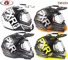 New 2019 FXR Torque X Evo Snowmobile Helmet w/ Electric Shield Black ops MD XL