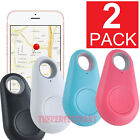 2-PACK Bluetooth Wireless Anti Lost Tracker Alarm Key Pet Finder GPS Locator USA