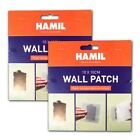 10cm x 10cm Sticky MESH WALL PATCH Repair Holes Damaged Plasterboard Plastering