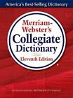 Merriam Webster's Collegiate Dictionary, 11th Edition (Hardcover, NEW)