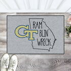 NCAA Starter Mat Area Rug with Slogan Choose Your Team
