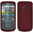 AMZER Skin Jelly TPU Case Screen Protector For Nokia C3 C7 C5 5230 Asha 303