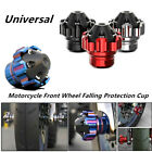 Motorcycle Scooter Dirt Bike CNC Front Wheel Frame Slider Falling Protector Cup $11.55 USD on eBay