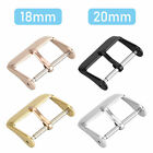 Stainless Steel Watch Buckle Parts 18-20mm Watch Band Strap Clasp Link Accessory