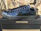 NEW Converse Chuck Taylor All Star Low Unisex Shoes Shiny Black Tuxedo 153232C