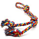 XL Dog Rope Toys for Strong Large Dogs, Dog Chew Toy 4 Knots Rope Tug for Rope to