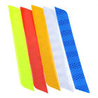 2x/set Reflective Warning Strip Tape Car Bumper Reflector Stickers Decals Safety