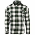 Forever Collectibles NFL Men's New York Jets Check Long Sleeve Flannel Shirt $34.95 USD on eBay