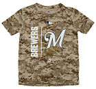 Majestic MLB Youth Milwaukee Breweres Short Sleeve AC Team Icon Tee on Ebay