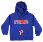 OuterStuff NBA Infant and Toddler's Detroit Pistons Fleece Hoodie, Blue on eBay