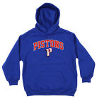 OuterStuff NBA Youth Detroit Pistons Fleece Pullover Hoodie, Blue on eBay