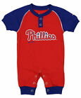 "Majestic MLB Infant Philadelphia Phillies ""Game Time"" Coverall on Ebay"