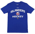 Reebok NHL Youth New York Islanders No Back Hit Short Sleeve Tee Shirt $9.99 USD on eBay