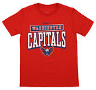 "Reebok NHL Youth Washington Capitals Short Sleeve ""Totally Fine"" Tee, Red $9.99 USD on eBay"