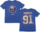 CCM NHL Youth New York Islanders Tavares Short Sleeve Vintage Tee, Blue $9.99 USD on eBay