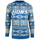Forever Collectibles NFL Men's Detroit Lions 2015 Aztec Ugly Sweater $39.99 USD on eBay