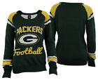 Forever Collectibles NFL Women's Green Bay Packers Glitter Scoop Neck Sweater on eBay