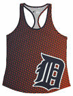 Forever Collectibles MLB Women's Detroit Tigers Diamond Racerback Tank on Ebay