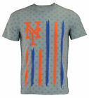 Forever Collectibles MLB Men's New York Mets Big Logo Flag Tee on Ebay