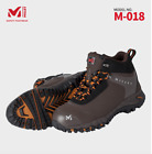 MILLET Safety shoes Work boots  M-018 Brown Steel Toe US M 7.0-11