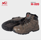 MILLET Safety shoes Work boots M-009 Military Brown Steel Toe  US M 7.0-10.5