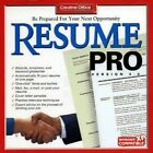 Resume Writing Instructional Software Aids PC Windows Factory Sealed New