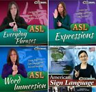 ASL American Sign Language Tutorials PC Windows XP Vista 7 8 10 Sealed New