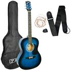 3rd Avenue Beginner Student Full Size Acoustic Guitar Pack with Free Bag