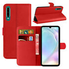 For Huawei P30 Pro/Lite Premium Leather Wallet Case Magnetic Closure Flip Cover