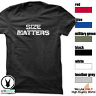 Size Matters Gym Rabbit T-Shirt Workout BodyBuilding Fitness Motivation Tee F297 image