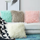 Mix & Match Home Decor Soft Fur Plush Cushion Cover Sofa Lounge Pillow Case
